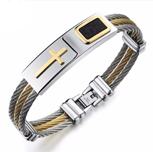 Like and Share if you want this  Cross Bracelet - 18cm size     Tag a friend who would love this!     FREE Shipping Worldwide     Buy one here---> https://www.petfabs.com/cross-bracelet-18cm-size/