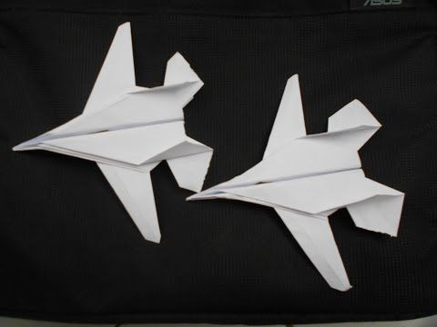how to make cool paper airplanes step by step easy