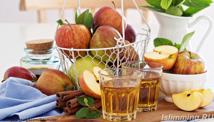 Яблоки с корицей для похудения полезные свойства