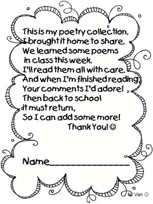 First Grade Wow: Daily Five - Read to Someone-Poetry Collections