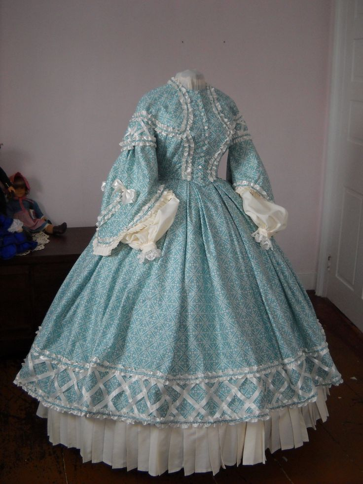 custom authentic Civil War era, Victorian, 1860's, 19th century day dress and ball gown by BatisteAndFrenchLace.   https://www.facebook.com/BatisteAndFrenchLace  www.etsy.com/shop/BatisteandFrenchLace