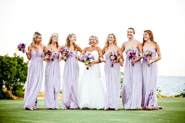 {Trendy Bridesmaid Styles} Lilac Bridesmaid Dresses for Romantic Purple Weddings