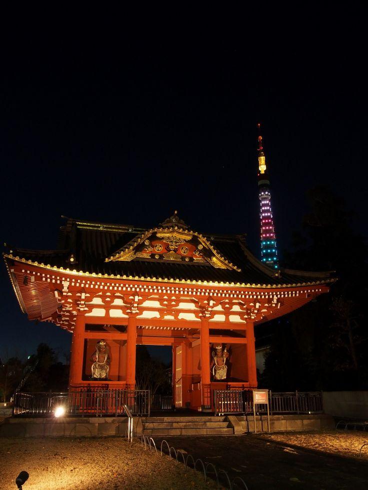 旧台徳院霊廟惣門(増上寺)/ Zojoji Temple,Tokyo,Japan