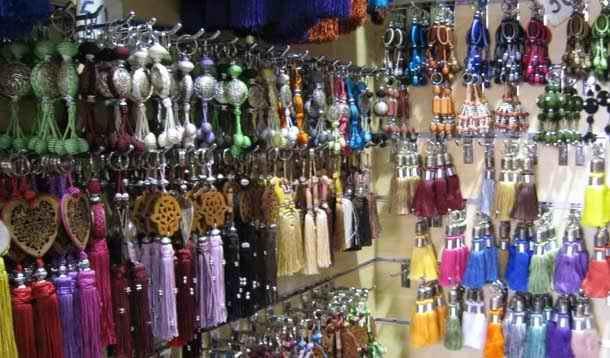 Moroccan Handicraft handmade tassel for furniture decoration made by passementiers