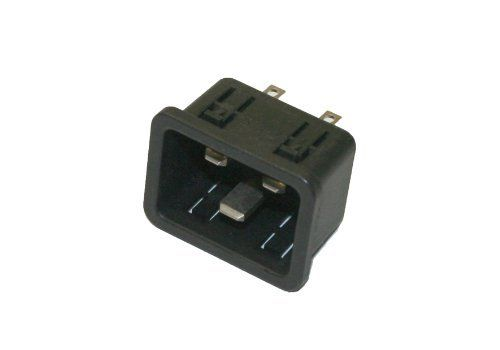 Interpower 83030450 IEC 60320 C20 Power Inlet with Solder Tabs, IEC 60320 C20 Socket Type, Black, 16A/20A Rating, 250VAC Rating by Interpower. $6.56