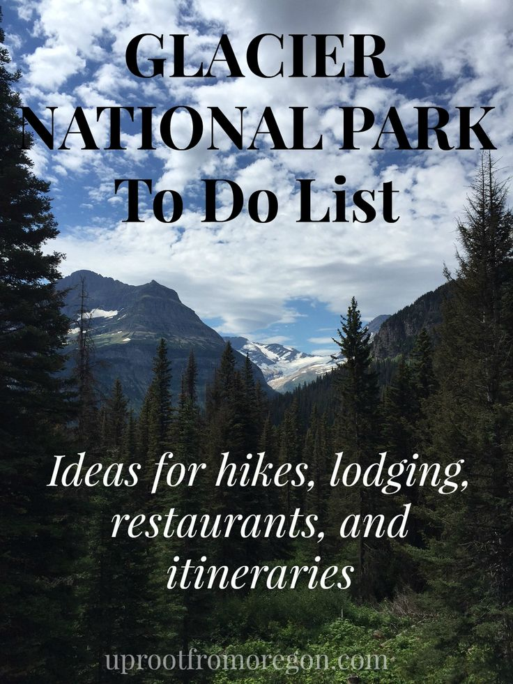 Here is your Glacier National Park To Do List, including hike, restaurant, and lodging recommendations, as well as a 4 day sample itinerary!