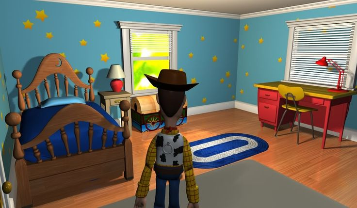 Andy S Room For Toy Story 2 Andys Room Andys Room Toy