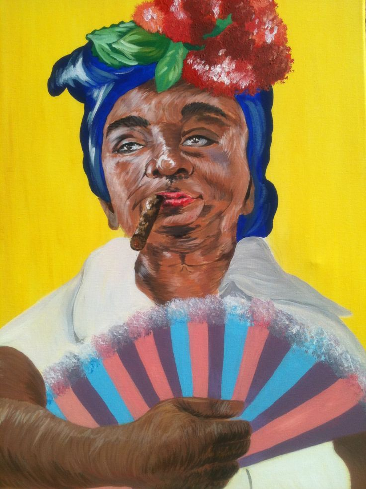 Cuban lady  Canvas 50X70 (for sale) https://www.facebook.com/pages/Jolie-Art-Home-Design/165204490349079?ref=ts&fref=ts www.newartists.se
