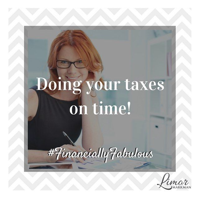 Time to get started on your #taxes!  Have you decided whether you are going to be doing them yourself or working with an #accountant?  It all depends on your expertise and how complex your situation is. Either way, don't get stuck in the last minute crunch! # FinanciallyFabulous #taxseason