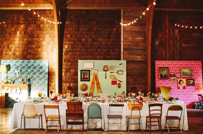 wes anderson styled wedding