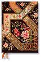 Filigree Floral Ebony 2014 Midi Diary