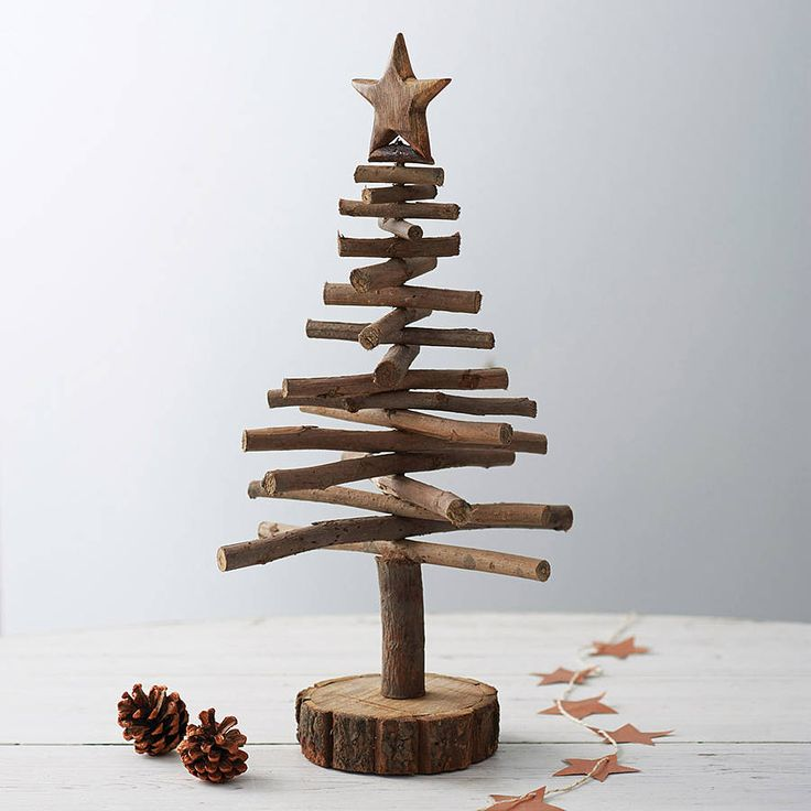 twig christmas tree by drift living | notonthehighstreet.com