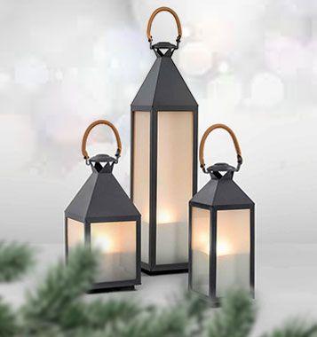 Sfeervolle lantaarns voor buiten.