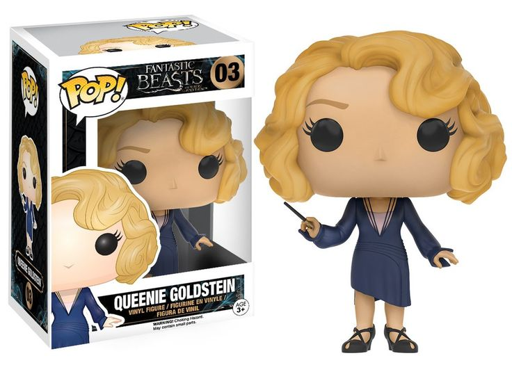 Pop! Movies: Fantastic Beasts and Where to Find Them - Queenie Goldstein