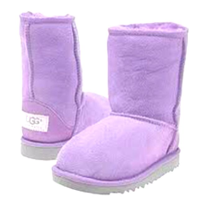 Purple Uggs <3