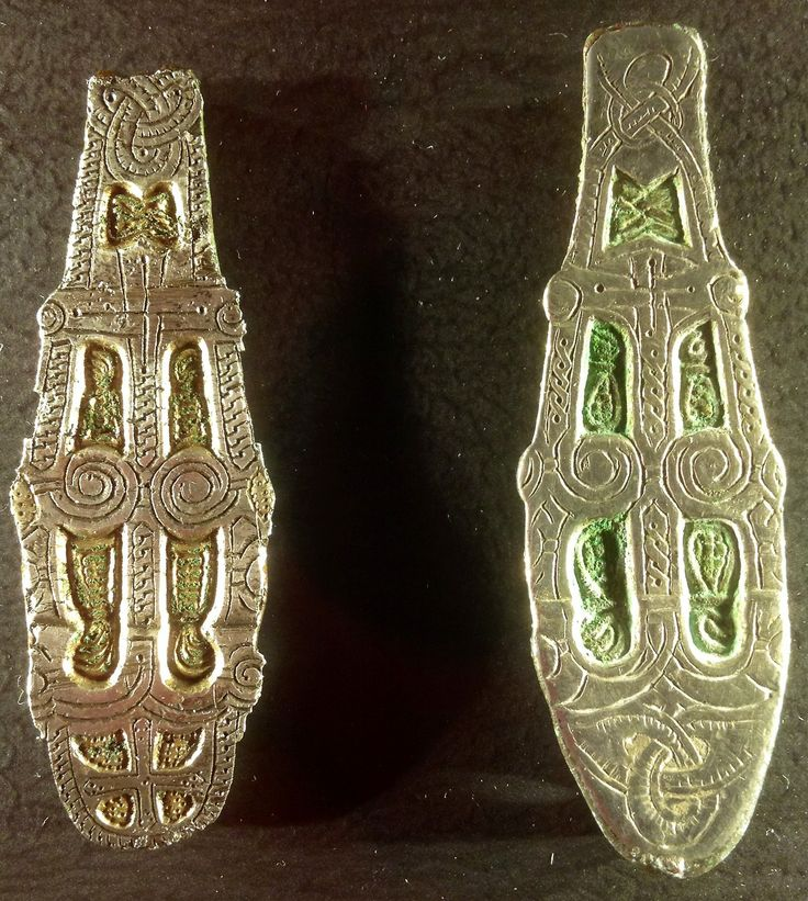 Viking jewelry, currently on display at the National Museum of Scotland