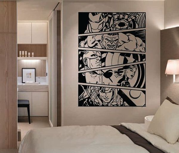 10 Best Marvel Avengers Wall Decor Ideas | Decorazilla Design Blog