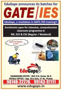 GATE coaching in Chandigarh, the best GATE, IES and PSU coaching institute in Chandigarh. Focus on GD and PI for post GATE ME, ECE admissions. 9814822278.