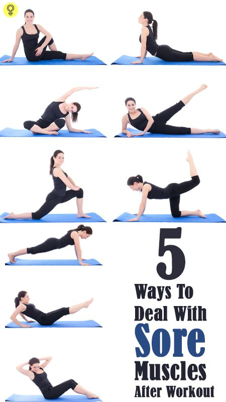 5 Simple Ways To Deal With Sore Muscles After Workout