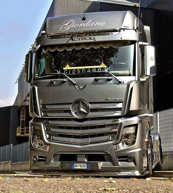 Mercedes Benz Actros Com Imagens Caminhoes Grandes Caminhoes