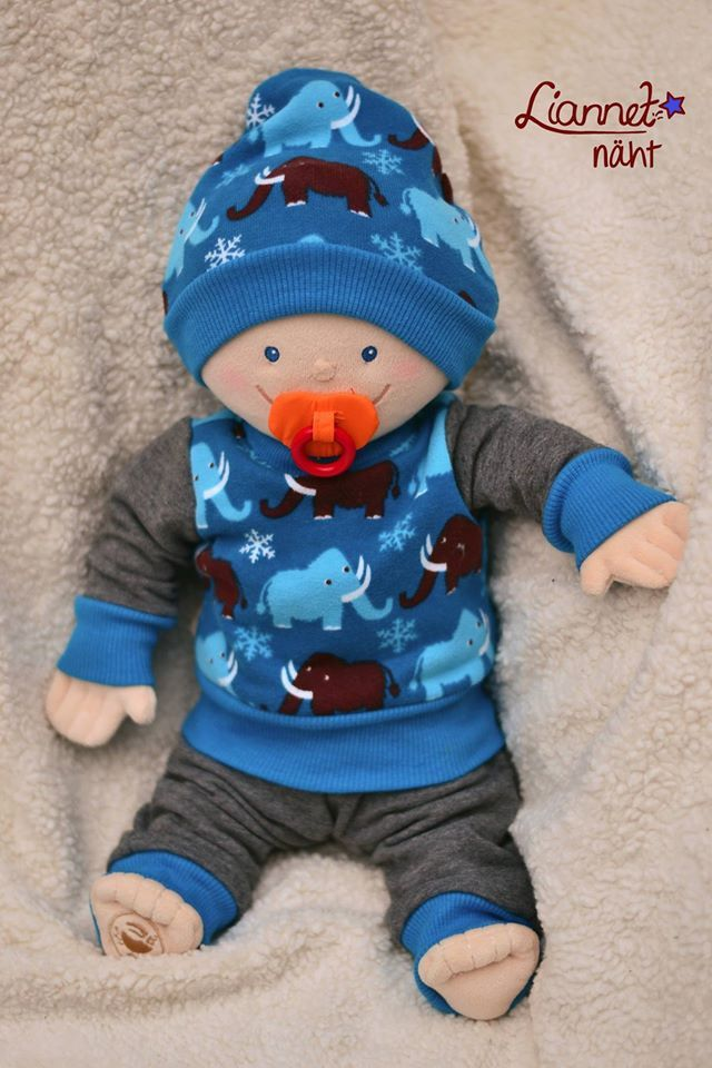 Freebook Puppenkleidung Set Schnittmuster | DOLLS CLOTHES ...