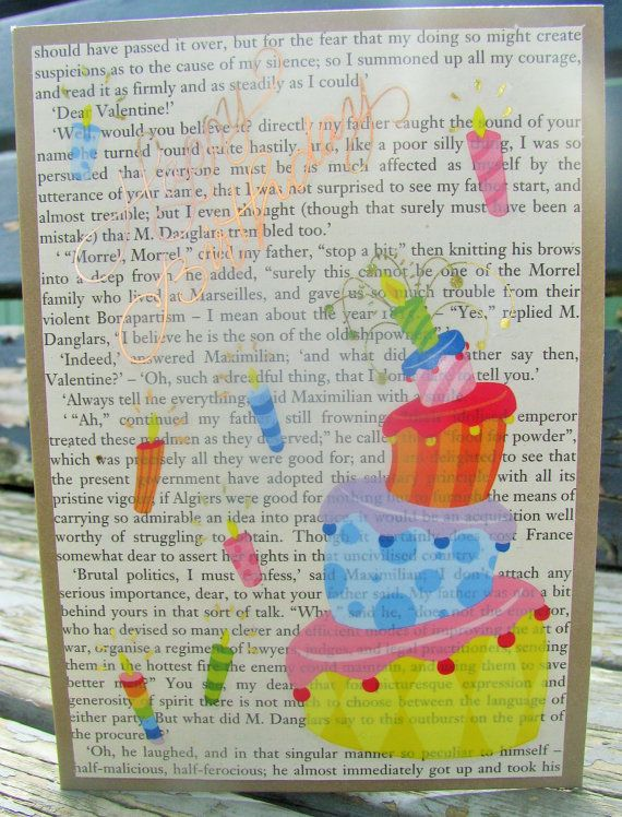 Topsy Turvy Birthday  handmade card. FWB happy by RogueKissedCraft