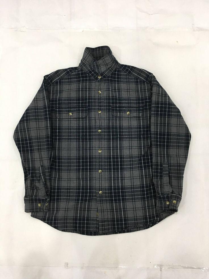 Boyfriend Shirt, Men Shirt, 90s Grunge, Eddie Bauer, Flannel, Streetwear,  Minimalist, Plaid, Etsy Shop