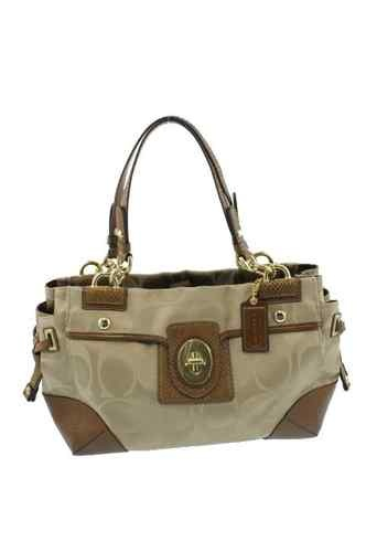 http://coachkristinelevated.webs.com Coach NEW Beige Jacquard Signature Satchel Tote Handbag Medium BHFO,COACH KRISTIN ELEVATED LEATHER SAGE ROUND SATCHEL.