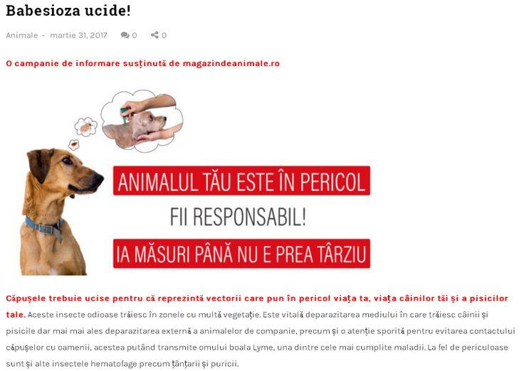 https://www.magazindeanimale.ro/babesioza-ucide/