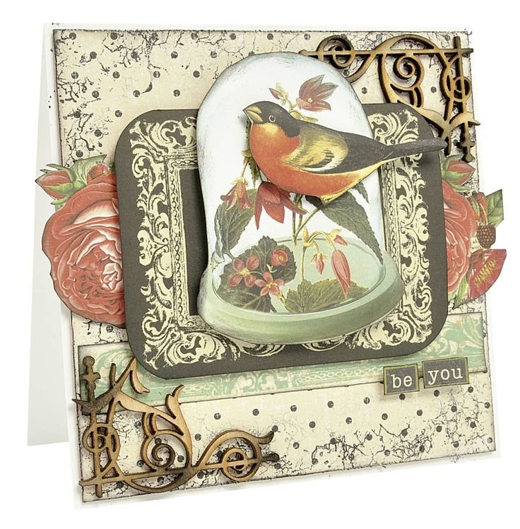 Intriguing Curiosity card perfect for all occasions.