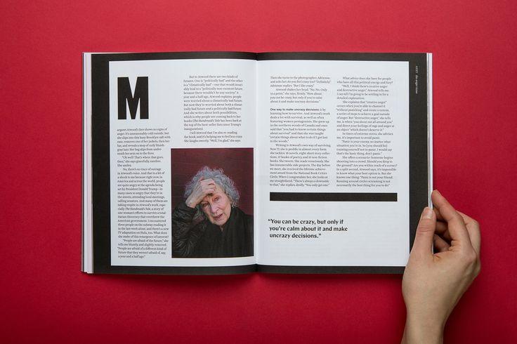Un coraggioso magazine indipendente che affronta temi come ansia, depressione, rabbia e disturbi alimentari con un'approccio da rivista di arte e cultura.
