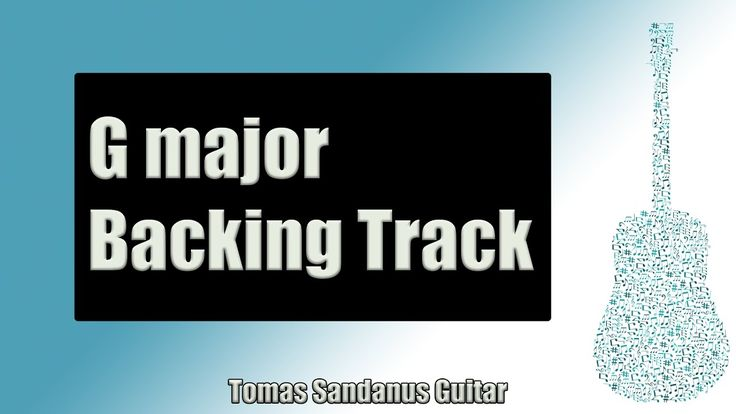 Backing Track in G Major Pop Rock with Piano with Chords and E minor Pentatonic Scale