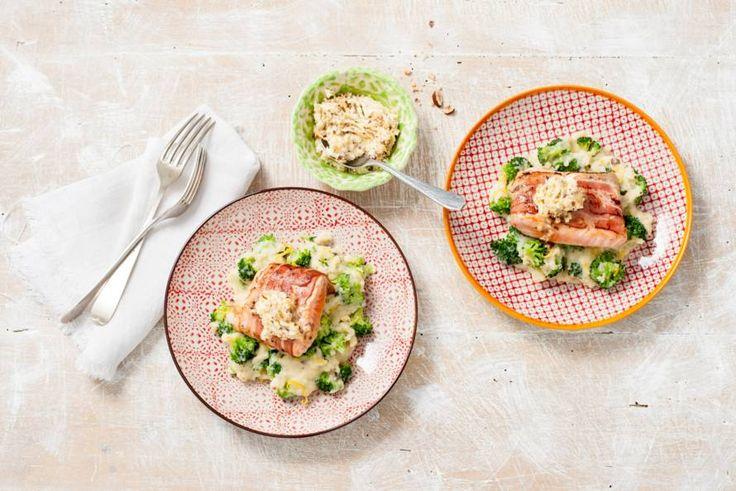 30 maart - Broccoli in de bonus - Een mooie vis-vleescombi. De citroenrasp geeft dit gerecht een fris tintje - Recept - Allerhande