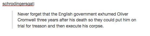 Governments sometimes do really stupid things.   Community Post: History According To Tumblr