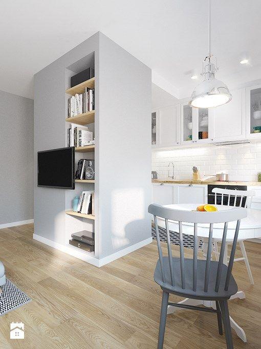 Konia z rzędem temu, kto nie narzeka na metraż swojego mieszkania w bloku! Niestety, potrzebnej przestrzeni jakby zawsze nieco za mało. Mikroskopijne łazienki, wąskie przedpokoje, niewielkie kuchnie. Połączenie kuchni z salonem – choć nie sprawi, że wielkość mieszkania nagle się zmieni – może sprawi ...
