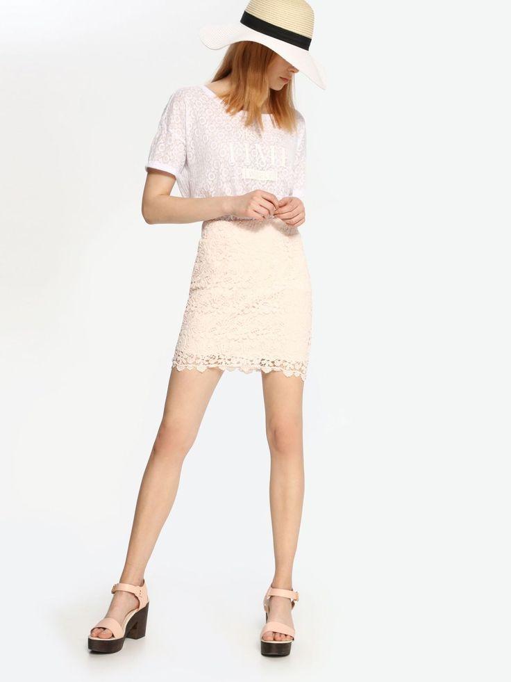 Top Secret TSD0481 Pink Skirt