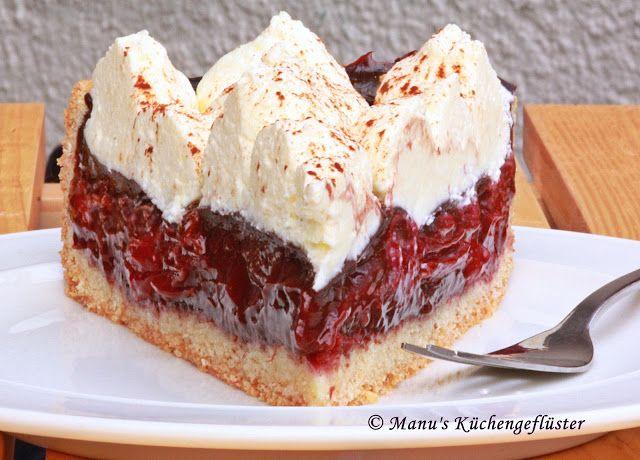 Manus Küchengeflüster: Rotwein-Kirschkuchen