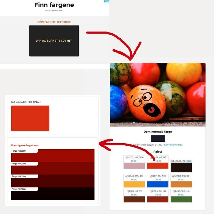 Just combined 2 tools to find the #dominating #colors in any #image. Very easy to use. Drag and drop any image onto the black area and you get the HEX and the RBG color codes for the dominating and corresponsing images.  Try here: http://ift.tt/1Vq6F4D  #work #working #job #myjob #office #company #bored #grind #mygrind #dayjob #ilovemyjob #dailygrind #photooftheday #business #biz #life #workinglate #computer #instajob #instalife #instagood #instadaily #colors  #colorful
