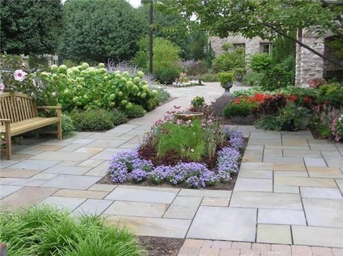 Garden With Patio No Grass   Google Search