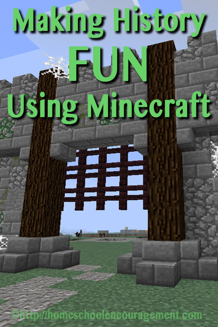 Making History Fun with Minecraft: Learning with Minecraft Series - come with us on a crafting adventure!