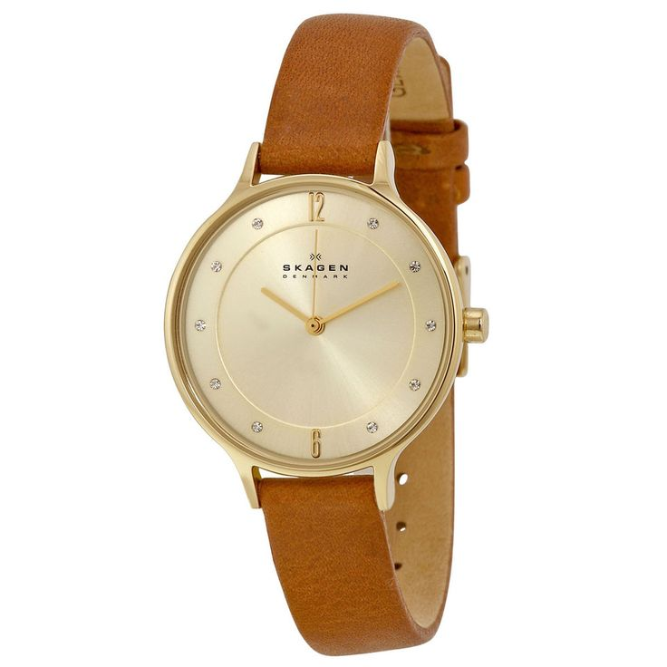 Skagen - Ladies' Anita Watch in Champagne and Brown