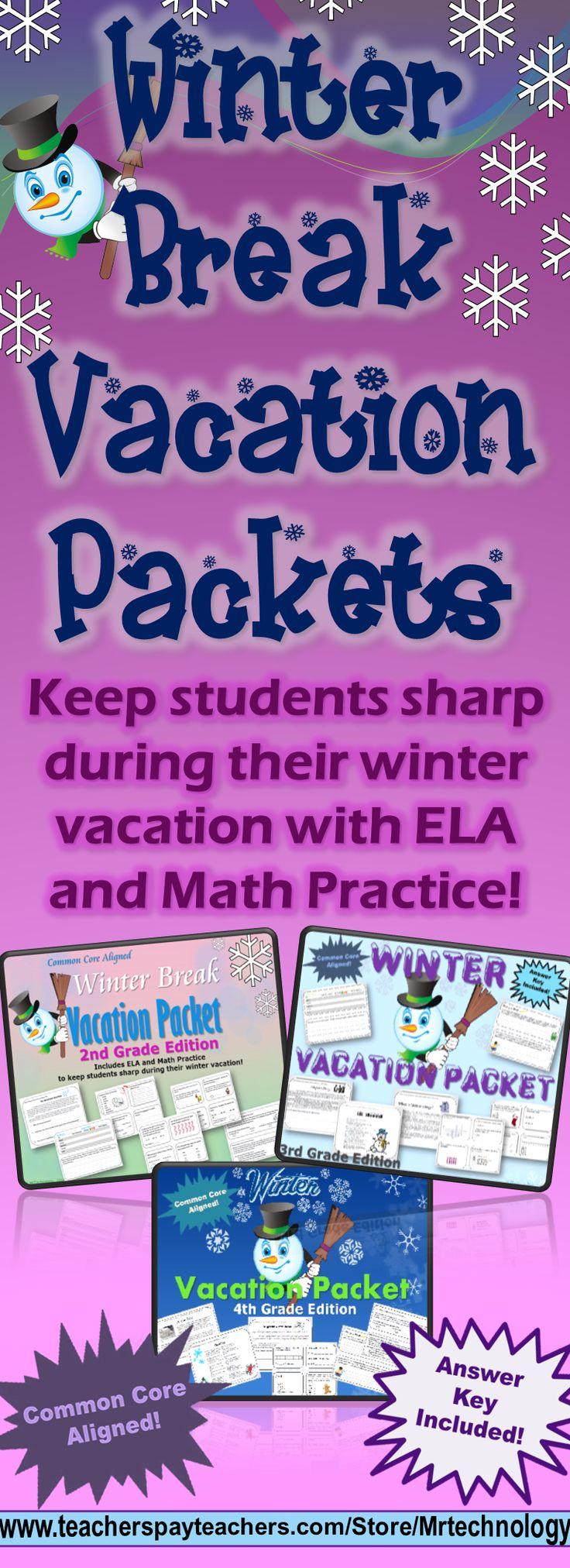 Grade 6 winter review math packet exceedingthecore s for Fall break vacation ideas