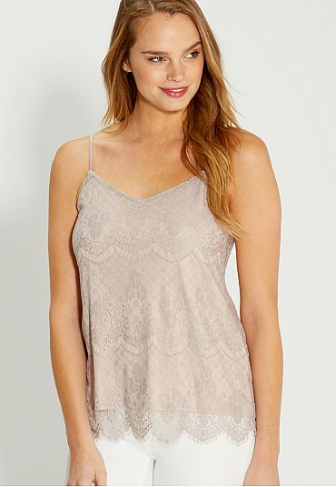 lace cami (original price, $24) available at #Maurices