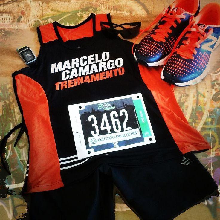Tudo pronto pra prova amanhã com a equipe @marcelocamargotreinamento na XVII Meia Maratona da Cidade de São Paulo. #meiadacorpore #meiamaratonacorpore #saopaulo #marcelocamargotreinamento