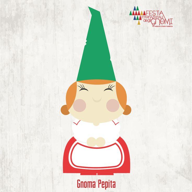 Gnoma Pepita | una dolcissima signora dalle guance paffute e le mani tonde come panini, porta con sé l'odore delle sue buonissime torte e del sapone che produce in casa.
