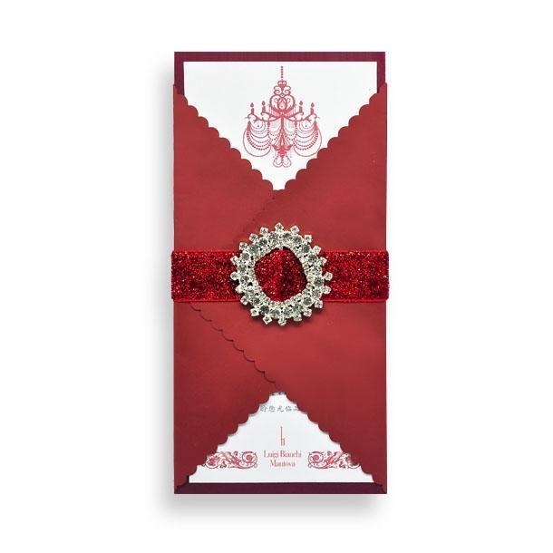 Embracing luxury invitation - Handmade Wedding Invitations & Unique Stationery Online