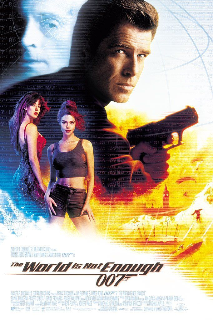 The World Is Not Enough (1999) Pierce Brosnan, Sophie Marceau, Denise Richards and Judi Dench