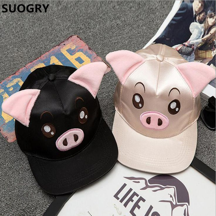 $5.28 (Buy here: https://alitems.com/g/1e8d114494ebda23ff8b16525dc3e8/?i=5&ulp=https%3A%2F%2Fwww.aliexpress.com%2Fitem%2F2016-Fashion-Hip-Hop-Snapback-Caps-for-Women-Girls-Pig-Sheep-Face-Pattern-Cartoon-Sun-Cap%2F32787413722.html ) 2016 Fashion Hip Hop Snapback Caps for Women Girls Pig Sheep Face Pattern Cartoon Sun Cap Casual Hiphip Hats Beisbol Chapeu RZ82 for just $5.28