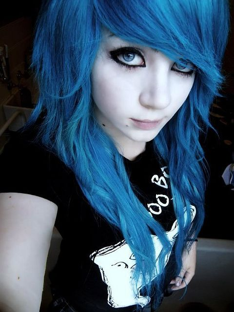 blue emo hair | Recent Photos The Commons Getty Collection Galleries World Map App ...
