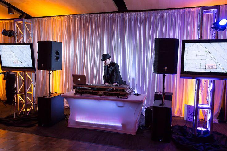 Dj Fonix Setup Including 2 Speakers 2 Subs Dj Board